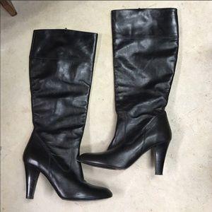 Coach black boots 👢